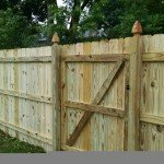 Pressure Treated Privacy back